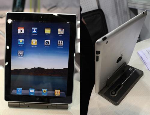 iPad 2 Forder-Rückseitenansicht
