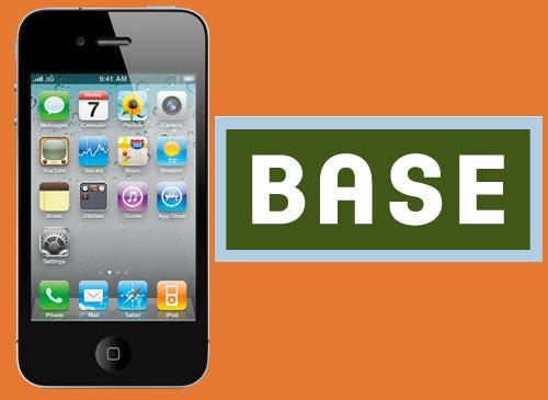 Apple iPhone 4G bei Base