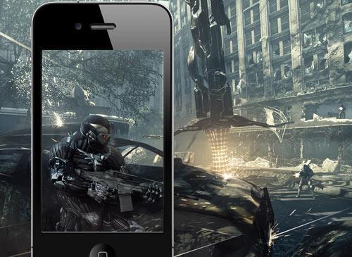 Apple iPhone mit Crysis 2