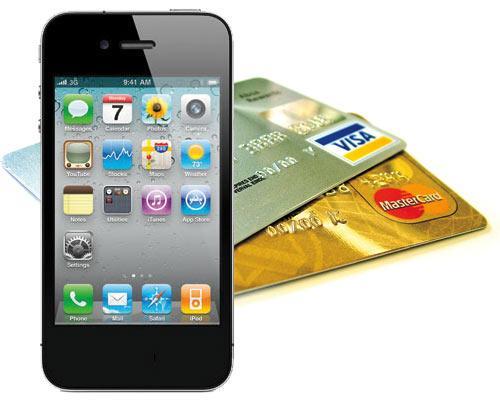iPhone 4 und Kreditkarte