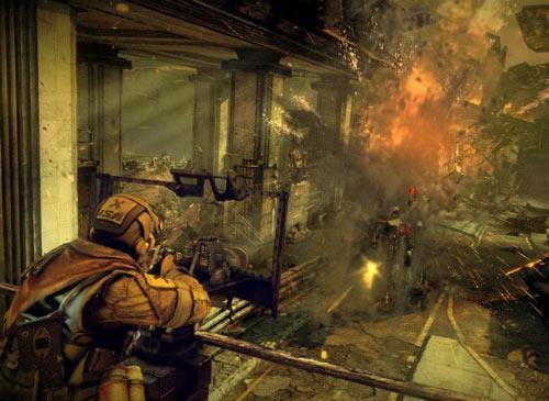 Killzone 3 Screenshot Zerstörung