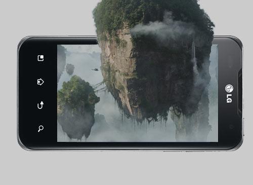 LG 3D Handy mit Avatar