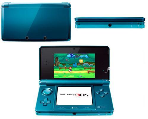 Nintendo 3D ansichten und Spiel