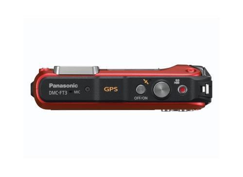 Panasonic Lumix DMC-FT3 von Obenen