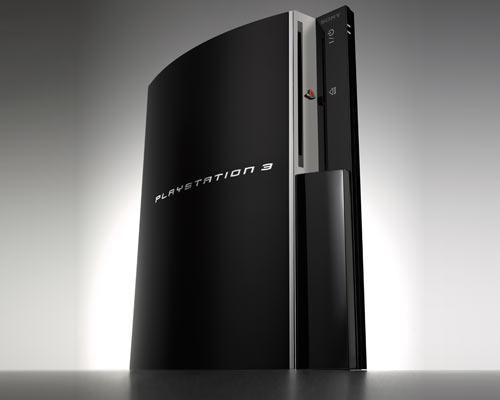Playstation 3 Frontalansicht