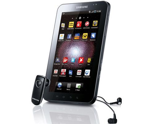 Samsung Galaxy Tab Seitenansicht