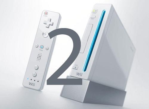 Nintendo Wii mit 2