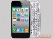 iPhone 5 mit ausschiebbarer QWERTZ-Tastatur,