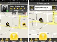 iPhone Taxi App: Taxi per