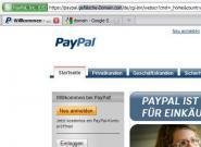 Paypal.com am häufigsten für Phishing-Attacken