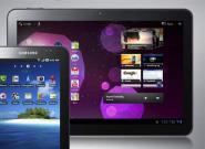 """Samsung Galaxy Tab: """"Ein sieben"""
