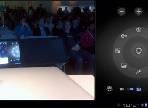 Android Honeycomb Kamera