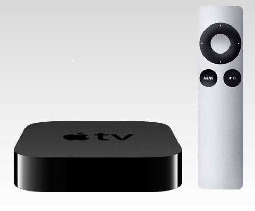 Apple TV Box mit Fernbedienung