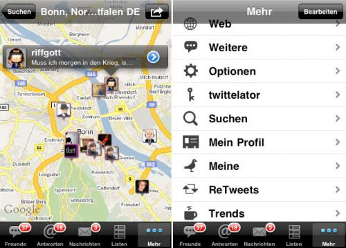 Apple iPhone App Twittelator Pro