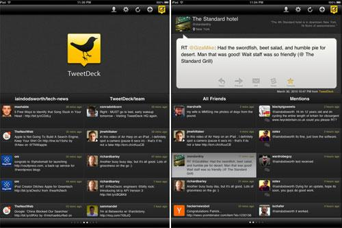 Apple iPad App TweetDreck
