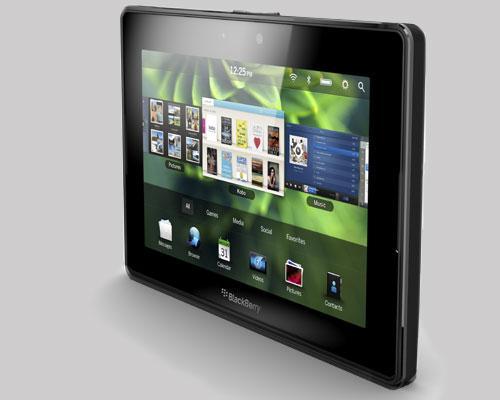 BlackBerry PlayBook Schräckansicht