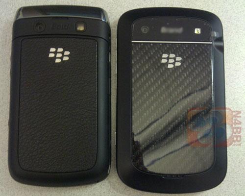 Blackberry Touch Bold Bild Rückseite