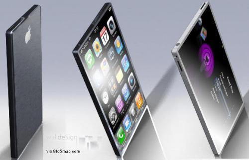 iPhone 5G Seiten Ansichten