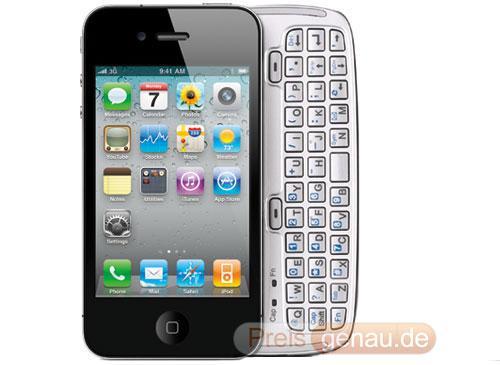 iPhone 5g mit Tastatur