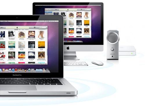 iTunes auf MAcBook und iMac