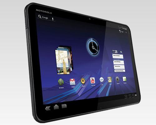 Motorola Xoom Schrägansicht