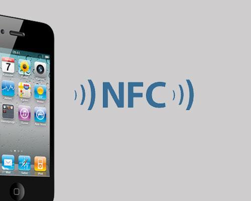 NFC Logo mit iPhone