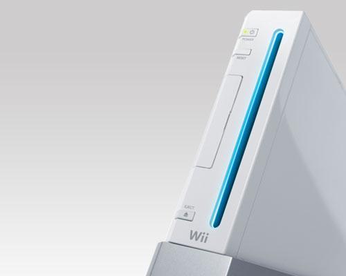 Nintendo Wii Schrägansicht