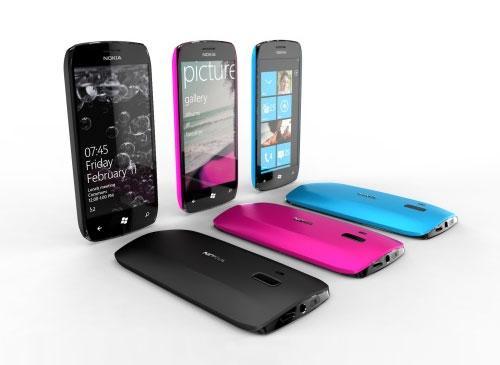 Nokia handys mit windows phone 7 release erste smartphones erst 2012