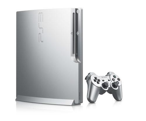 PlayStation 3 Silber