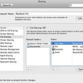 Anleitung: Mit Mac OS X