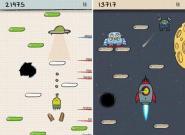 """iOS Spiel """"Doodle Jump"""" erreicht"""
