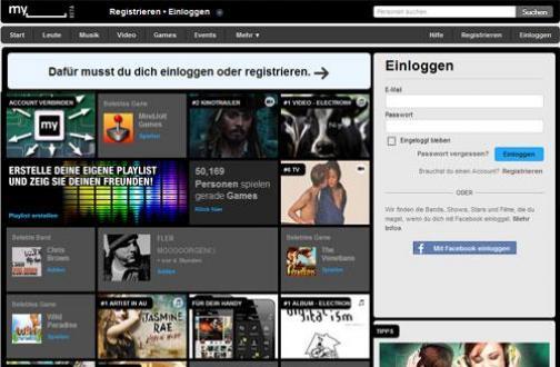 MySpace.com verliert 30% seiner Nutzer