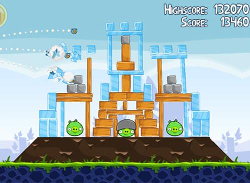 Angry Birds Spiel