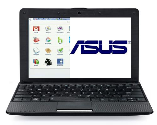 Asus Netbook mit Google Chrome
