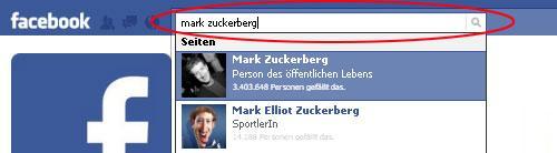 facebook Sicherheitstipps Privatsphäre Suche