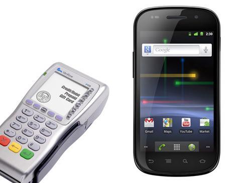 Google Nexus S VeriFone