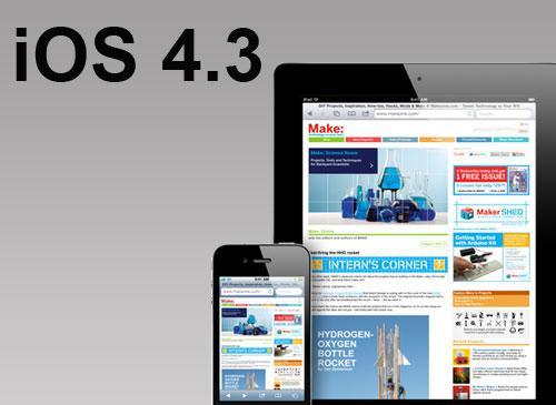 iOS 4.3 Safari und Logo