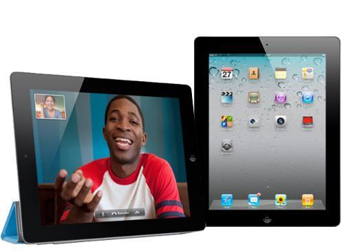 iPad 2 Schrägansicht und Frontansicht