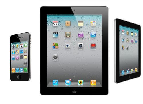iPad2 iPhone 4G iPad
