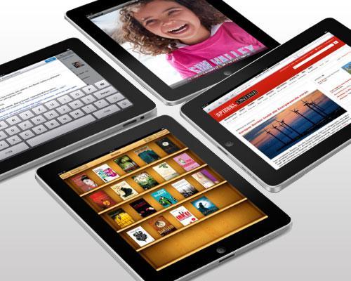 Apple iPad mit Apps