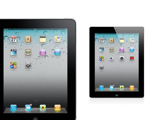 iPad 1 vor iPad 2