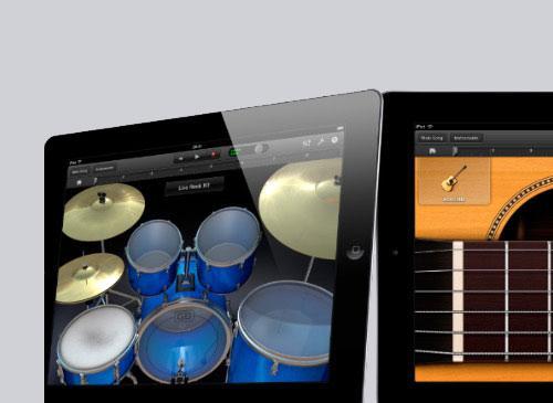 ipad 2 apple neu garage band