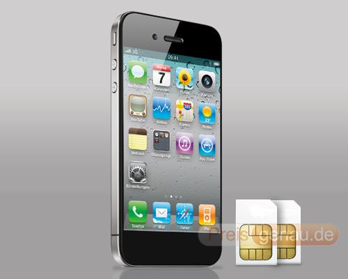 iPhone 5 mit Sim Karten
