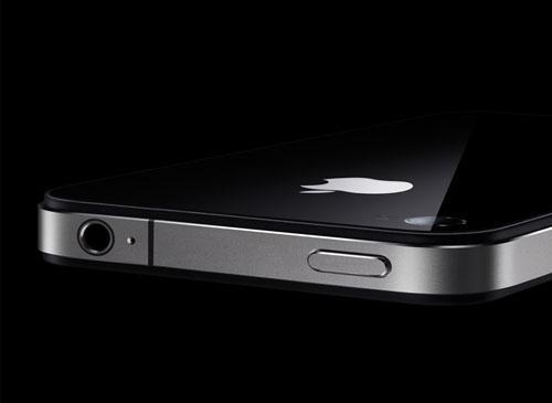 iPhone Liegent Oberkantenansicht