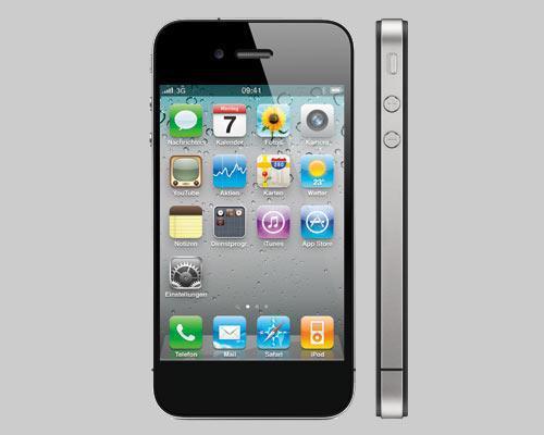 iPhone 5 Front und Seitenansicht