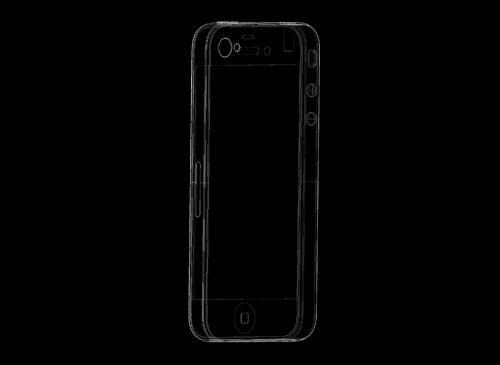 iPhone 5Konzeptbild Rückseite