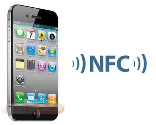 iPhone 5 und NFC Logo