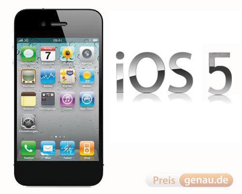 iPhone 5 ohne IOS 5