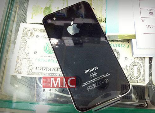 iPhone 4G mit 64GB Ruckseitenansicht