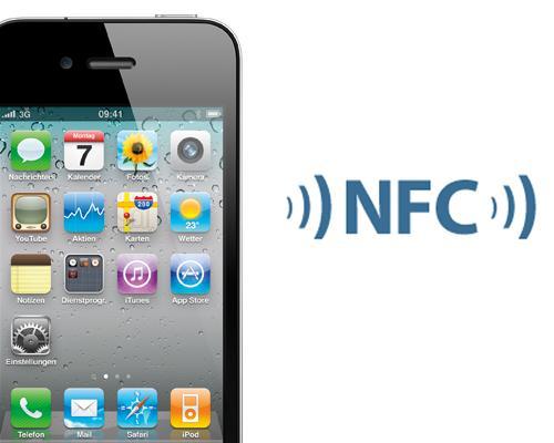 iPhone 4G und NFC Logo